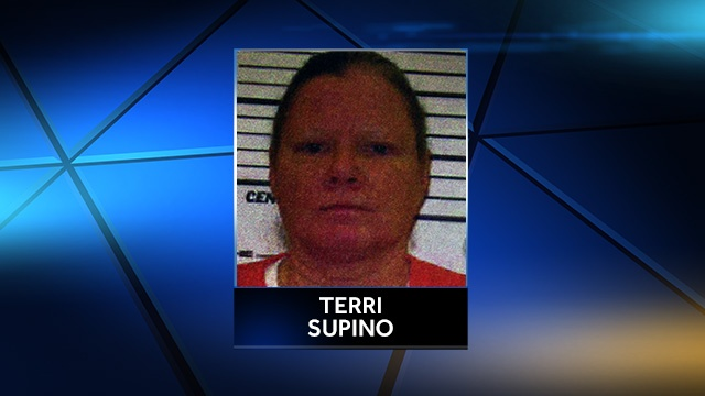 Terri Supino mugshot (Source: KCCI-TV)